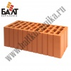 Lightweight thickened hollow brick